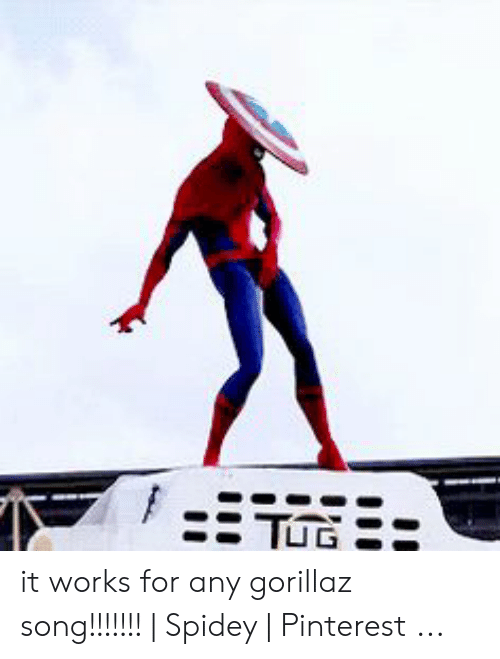 It Works for Any Gorillaz Song!!!!!!!   Spidey   Pinterest