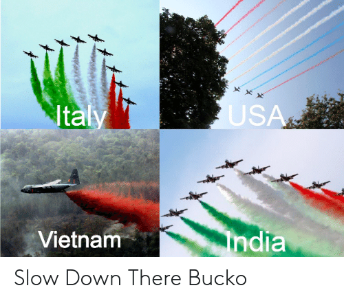 Reddit, Vietnam, and Down: Ital  US  Vietnam  ndia Slow Down There Bucko