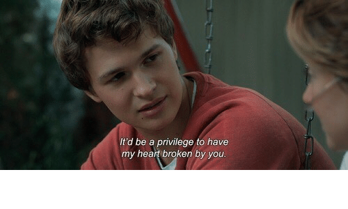 Heart, You, and Broken: It'd be a privilege to have  my heart broken by you