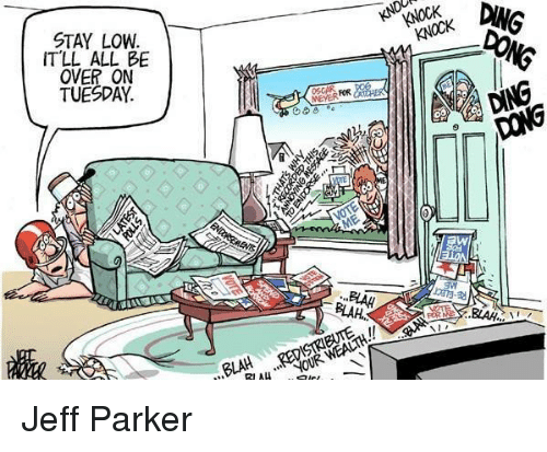 Memes And Parker It Ll All Be Over On Tuesday Meyer Jeff
