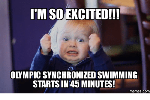itm so excited olympic synchronized swimming starts in 45 minutes 13884998 itm so excited!!! olympic synchronized swimming starts in 45