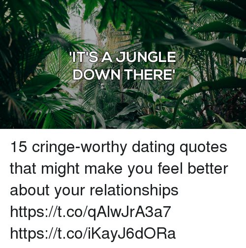 Dating site cringe worthy
