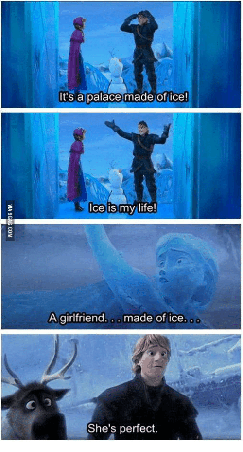 It's a Palace Made of Ice! Ice...
