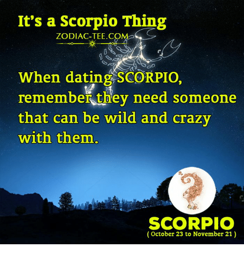 Things you should know about dating a scorpio