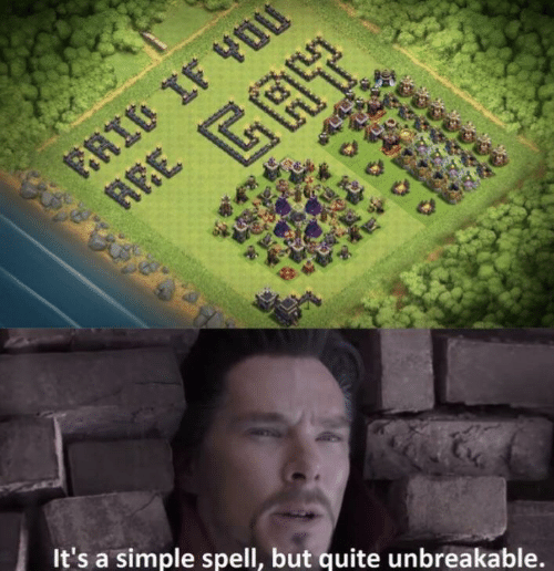 Quite, Simple, and Unbreakable: It's a simple spell, but quite unbreakable.