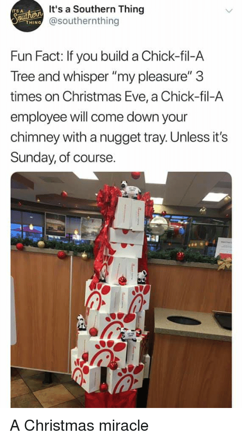 Chick-Fil-A, Christmas, and Reddit: It's a Southern Thing @
