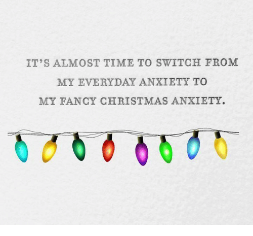 Image result for My fancy christmas anxiety