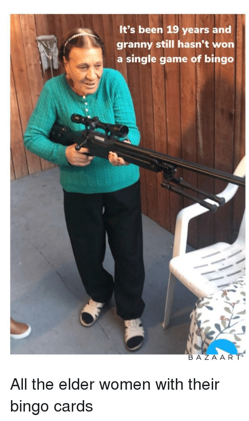 It's Been 19 Years and Granny Still Hasn't Won a Single Game