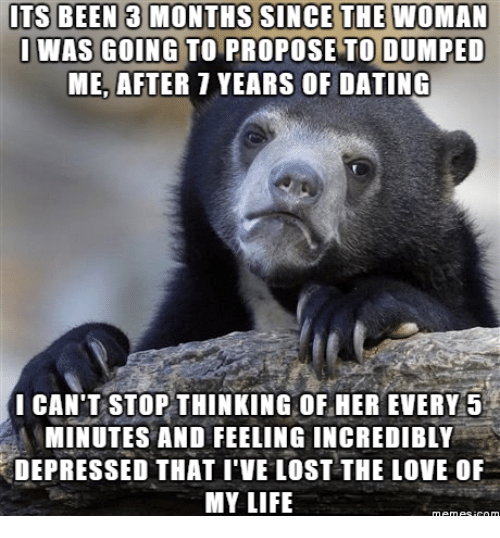 How do i stop thinking about dating