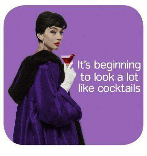 It's Beginning to Look a Lot Like Cocktails | Meme on ME.ME