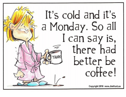 Image result for cold monday