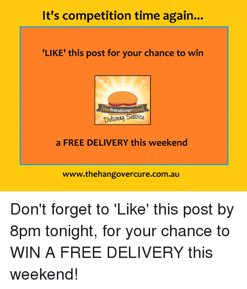 1a0546e1c8245a It s Competition Time Again LIKE  This Post for Your Chance to Win ...