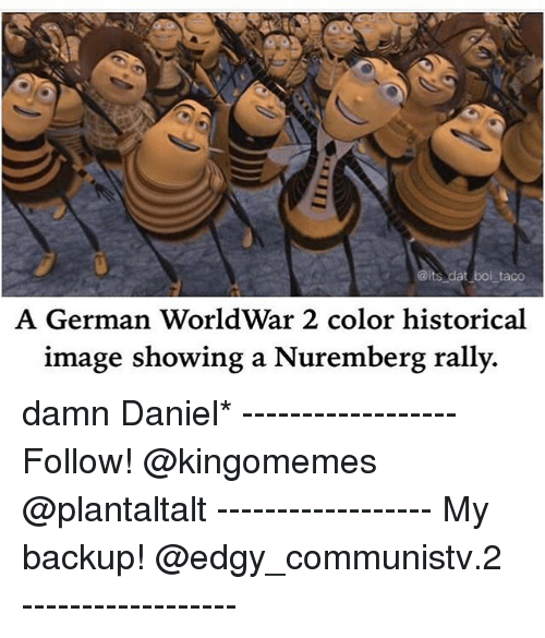 Its Dat I Taco a German WorldWar 2 Color Historical Image