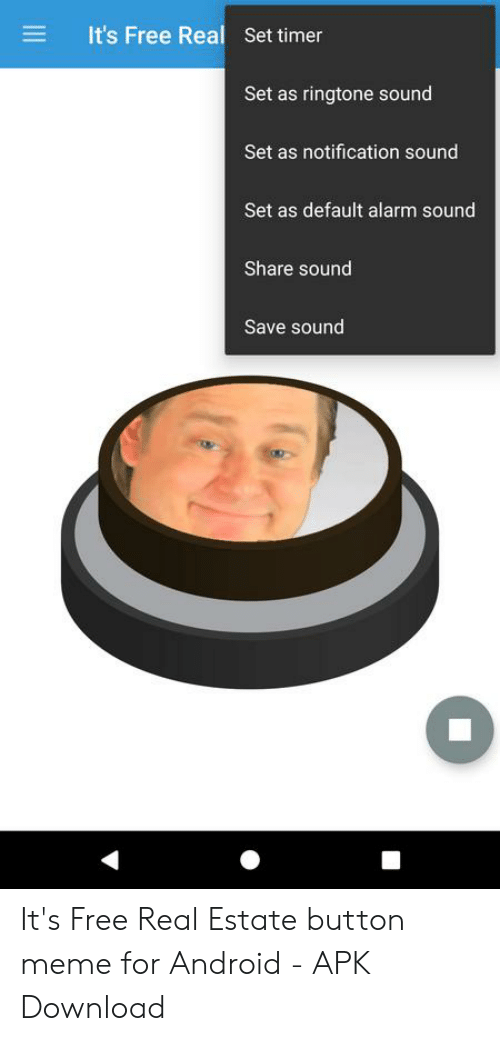 It's Free Real Set Timer Set as Ringtone Sound Set as Notification