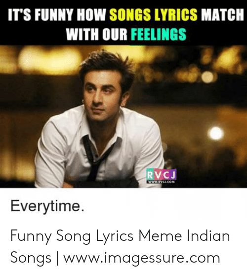It S Funny How Songs Lyrics Match With Our Feelings Rvcj Everytime