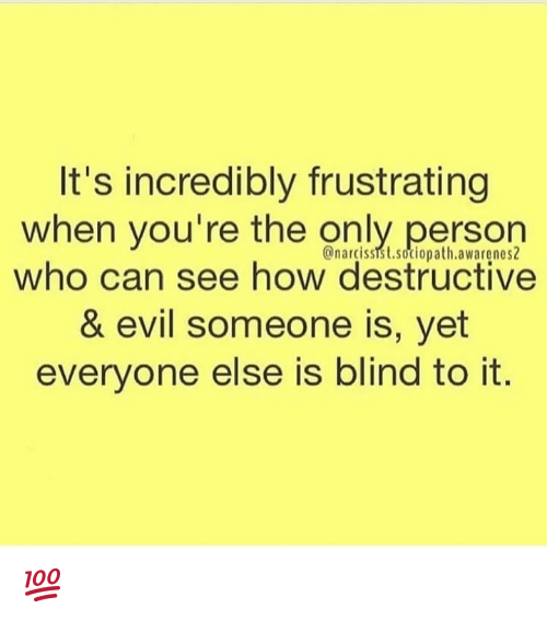 It's Incredibly Frustrating When You're the Onlyperson Who