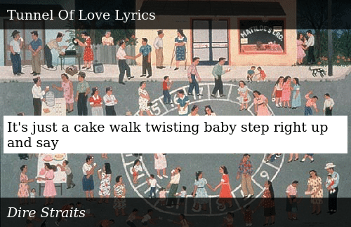 SIZZLE: It's just a cake walk twisting baby step right up and say