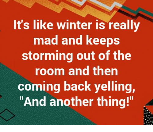 Image result for winter meme and another thing