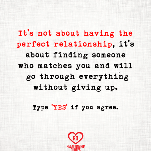 It\'s Not About Having the Perfect Relationship It\'s About ...
