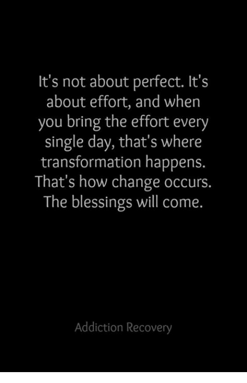 Blessings Bring Change