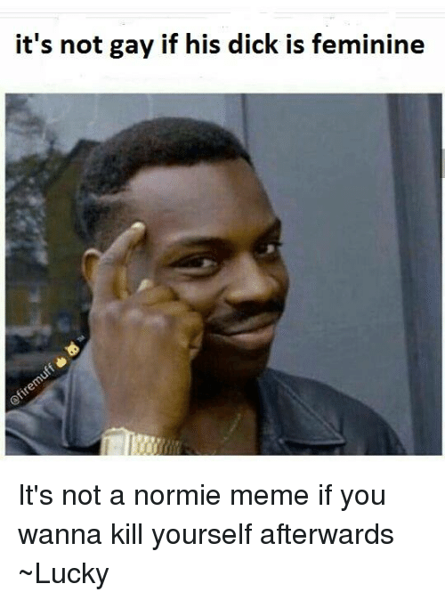 It is not gay if you can not see