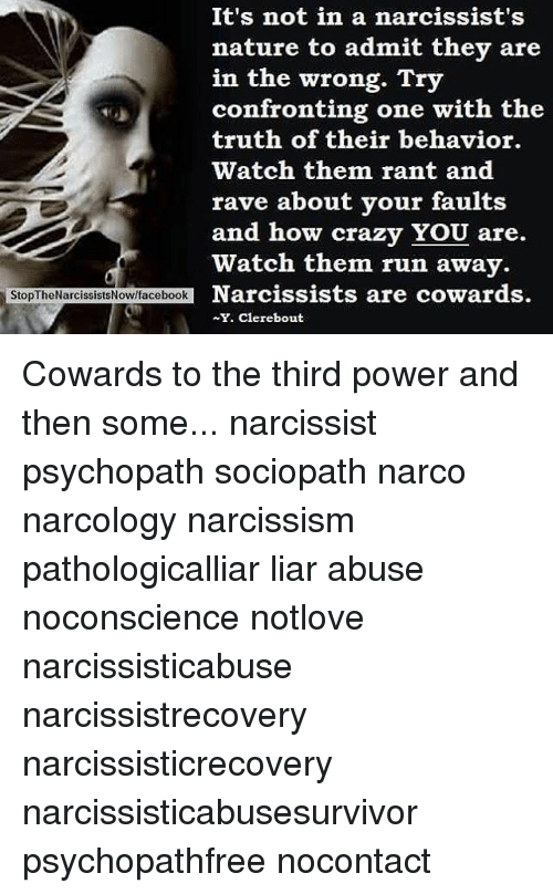 It's Not in a Narcissist's Nature to Admit They Are in the Wrong Try