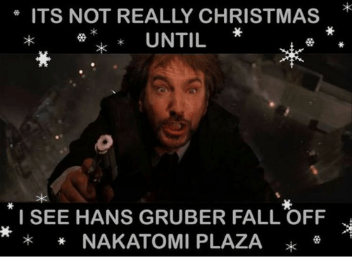Image result for hans gruber falling