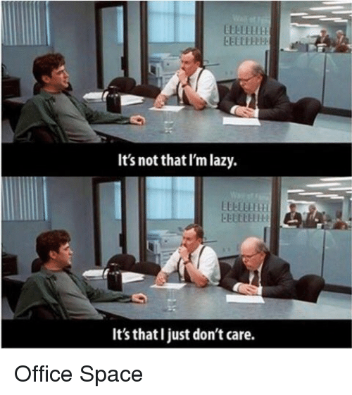 25 best memes about office space office space memes for Small room meme