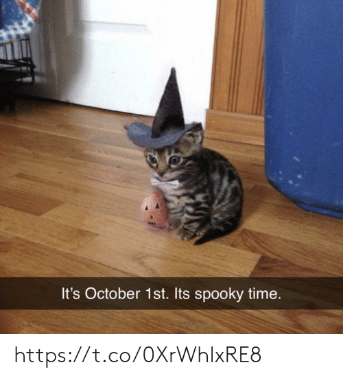Memes, Time, and Spooky: It's October 1st. Its spooky time. https://t.co/0XrWhlxRE8