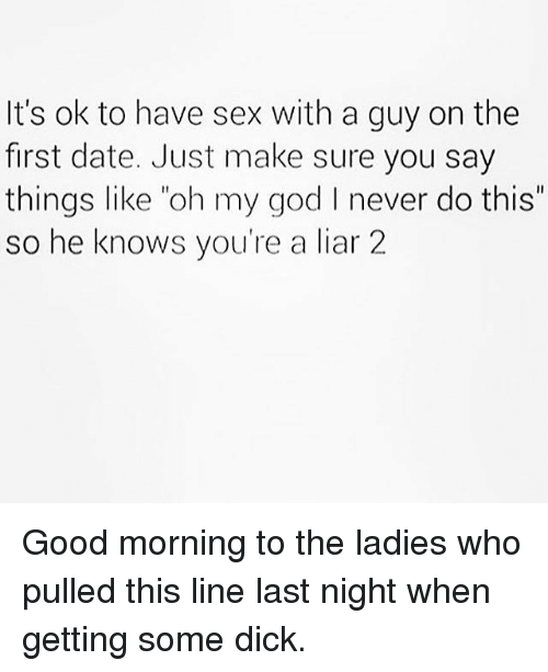 Guy tries to have sex on the first date