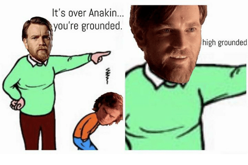 Its Over Anakin
