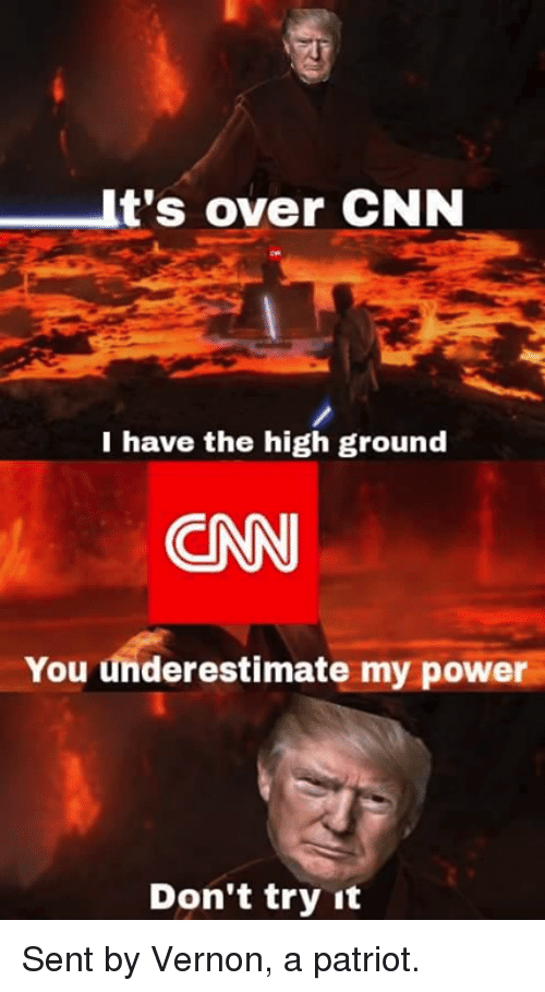 its over cnn i have the high ground cn you 25182461 25 best i have the high ground memes its over anakin memes, oh