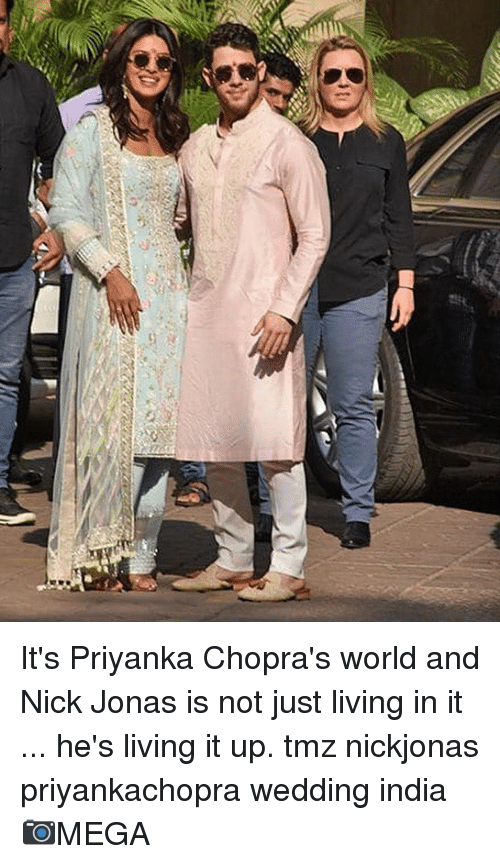 8801e900b5 Memes, India, and Nick: It's Priyanka Chopra's world and Nick Jonas is not