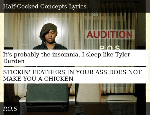 f085577d1e07 It s Probably the Insomnia I Sleep Like Tyler Durden STICKIN ...
