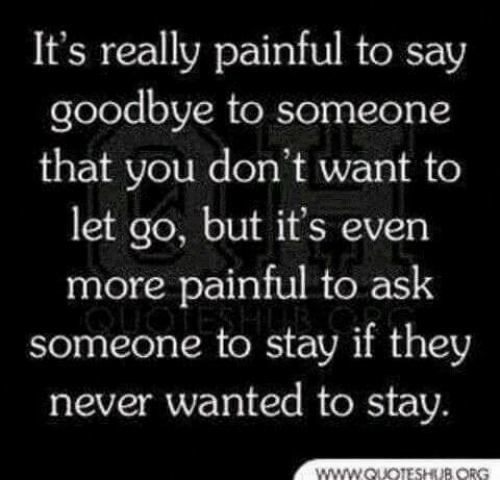 It's Really Painful to Say Goo...