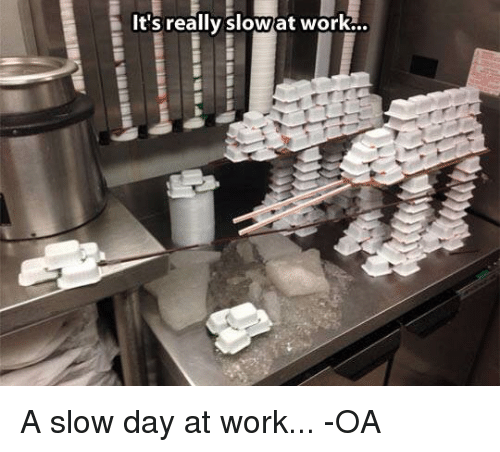 Its Really Slow At Work A Slow Day At Work Oa Star Wars Meme On