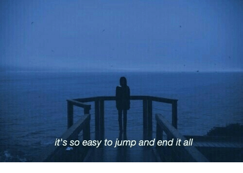 Easy, All, and Jump: it's so easy to jump and end it all