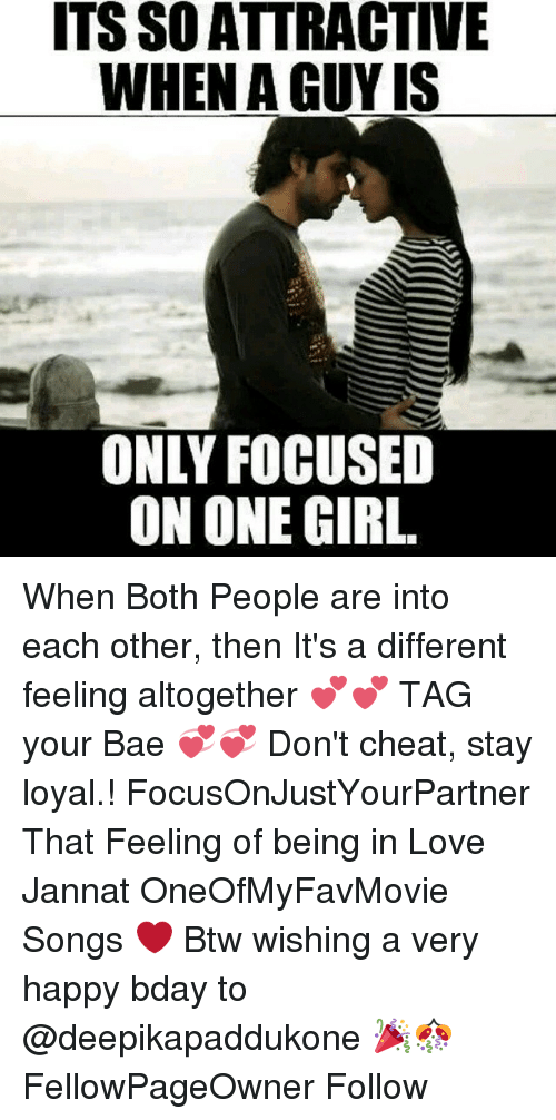ITS SOATTRACTIVE WHEN a GUY IS ONLY FOCUSED ON ONE GIRL When Both