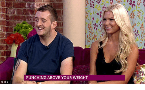 Punching above your weight dating