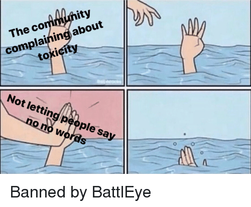 Ity the Co Complainingjabout Toxicity Not Letting People Say No No