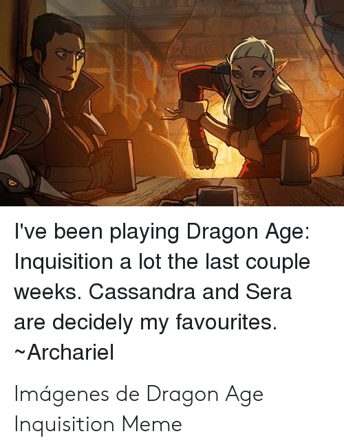 I Ve Been Playing Dragon Age Inquisition A Lot The Last Couple