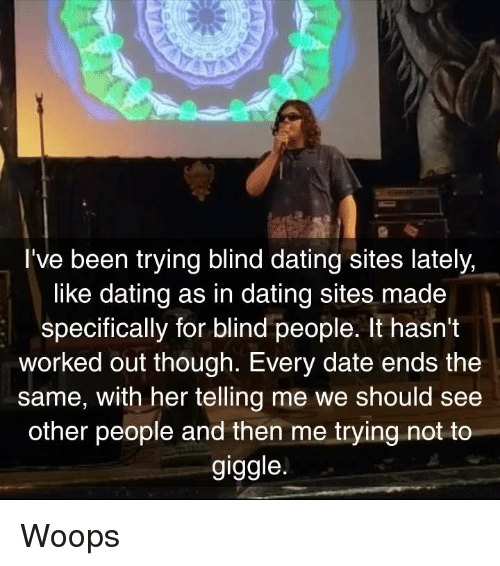 Blind dating sites