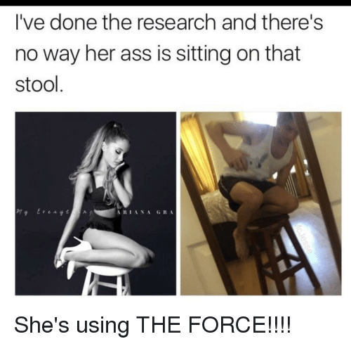 using her asshole
