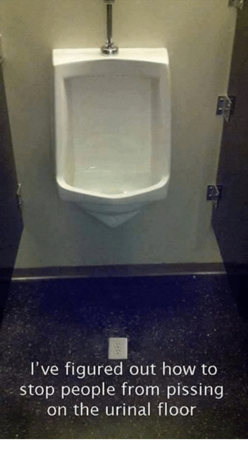 Recommend How to stop pissing are