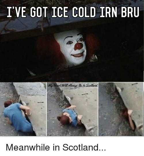 ive got ice cold irn bru meanwhile in scotland 27559845 i've got ice cold irn bru meanwhile in scotland meme on me me