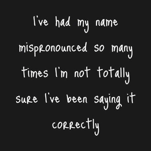 Dank, Been, and 🤖: I've had my name  mispRonounced so many  times l'm not totally  SuRe I've been saying ir  cORRectly