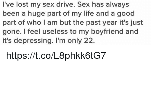 My sex drive is gone