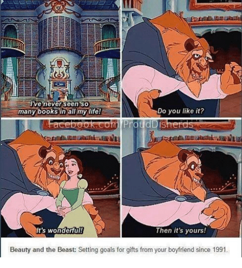 ive never seen so do you like it many books 6586198 ✅ 25 best memes about beauty and the beast beauty and the