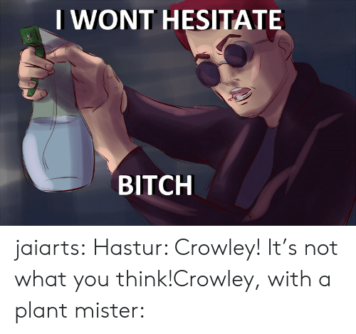 IWONT HESITATE BITCH Jaiarts Hastur Crowley! It's Not What You Think