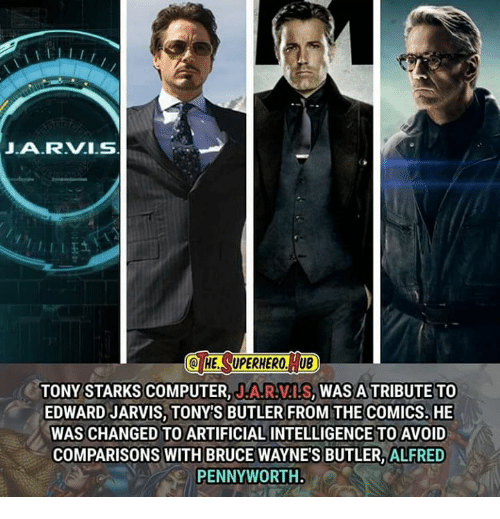 Jarvis Q He Superhero Ub Tony Starks Computer Na R Als Was A Tribute